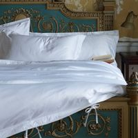 Bed linen  - 1000TC Genuisa 2 x Superking Oxford Pillowcases White