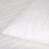 Luxury Cotton Quilted Pillow Protector Pair - Small Euro Standard