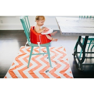 Baby Crockery  - Prince Lionheart Multi-Purpose CatchAll Mat - Chevron Orange