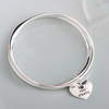 Wedding Live Your Dreams Bangle in Personalised Box
