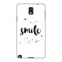 Miscellaneous  - Samsung Galaxy Note 3 Case - Smile