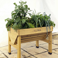 Garden Tools & Devices  - 1m VegTrug, Frame and Polythene Cover