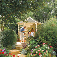 Flower Pots & Stands  - Gainsborough Gazebo