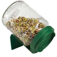 Plant Seeds  - Germinator Sprouter Jars (Triple Pack)