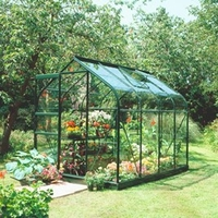 Greenhouses  - Halls Highgrove Greenhouse & Base - 4