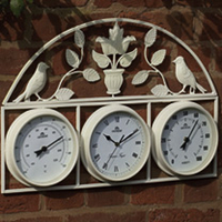 Christmas  - Wall Frame Weather Station Clock