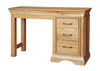 Mirrors French Style Versaille Rustic Oak Dressing Table
