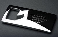 Personalised Gifts  - Elegant Personalised Bottle Opener