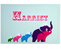 Gifts for Children  - Elephants Illuminated Canvas
