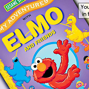 Gifts  - Elmo & Friends Adventure Book