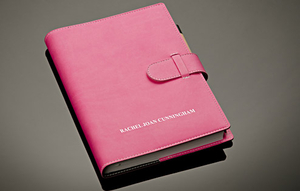 Novelty Gifts  - Embossed Notebook (ruled paper)