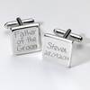 Engraved Cufflinks - Father of the Groom
