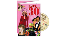 Personalised Gifts  - Happy 30th CD Card
