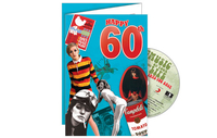Personalised Gifts  - Happy 60th CD Card
