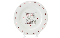 Personalised Gifts  - Happy Anniversary Plate & Pen