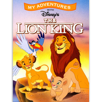 Lion King Adventure Book