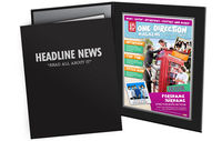 Personalised Gifts  - One Direction Magazine in Folder