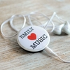 Personalised Pin Badge MP3 Player