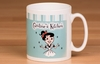 Personalised Retro Kitchen Mug