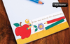 Personalised Teachers Apple Memo Notepad