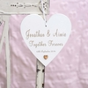 Personalised Together Forever Wedding Heart