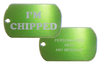 Rectangle Personalised Pet Tag