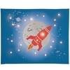 Space Rocket Illuminated Canvas