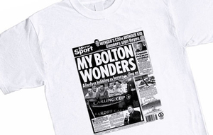 Personalised Gifts  - T-Shirts - Bolton Wanderers