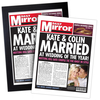 Gifts for Children Wedding Personalised Newspapers