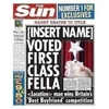 Internal Use|Gifts|Gifts for Men|Valentines day|Personalised Gifts Best Boyfriend Personalised Sun Newspaper