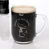 Etched Scottish Character Tankard