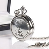 Father Of Bride Pocket Watch With Personalised Box