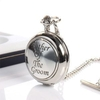 Father Of Groom Pocket Watch With Personalised Box