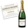 Father of the Bride Personalised Champagne