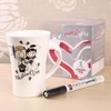 Graffiti Gifts - Bride and Groom Mugs