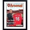 Personalised Arsenal Magazine Cover - Framed