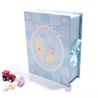 Welcome Little One Keepsake Box and Drawers - Boy