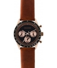 Zadig and Voltaire Master Brown Leather Chronograph Watch