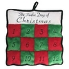 12 Days of Xmas Squeaker Mat Dog Toy