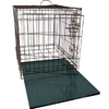 2 Door Collapsible Dog Crate and Free Luxury Bed by Dogit - Large