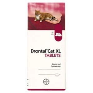 Drontal XLarge Cat Worming Tablet - 1 Tablet