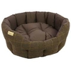 Earthbound Traditional Tweed & Waterproof Bed Large 65x60cm