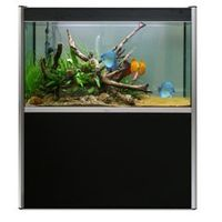 Fluval Profile 1200 Black Cabinet and Poles (4) 15852-15870