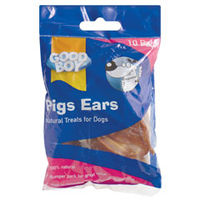 Snacks & Chews  - Good Boy Pigs Ears 10 Pieces