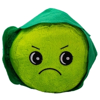 Pets & Domestic Animals  - James & Steel Grumpy Christmas Sprout Dog Toy - 20cm