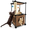 Kitty City Tower - Brown