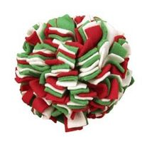 Play & Sport  - Large Christmas Fleecy Cleans Ball