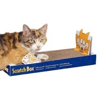 Scratching Posts  - Omega Paw Scratch Box Extra Wide 7.5