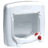 Petsafe Staywell Manual 4 Way Locking Deluxe Cat Flap - White