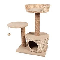Purrshire Play & Scratch Cat Activity Centre